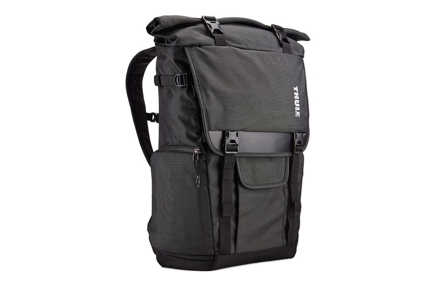 Рюкзак Thule Covert DSLR Rolltop Backpack, тёмно-серый (TCDK-101)